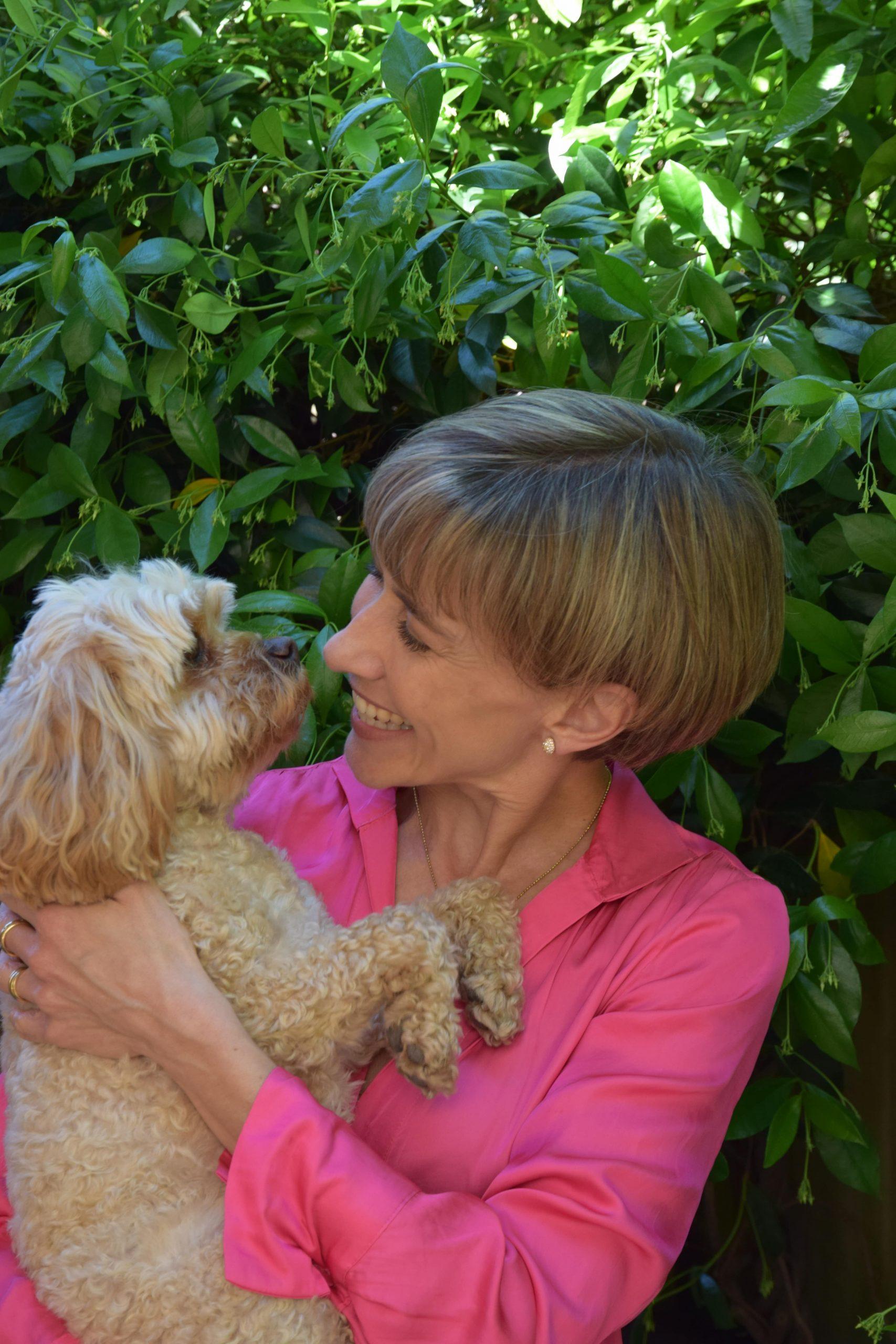 Belinda Findlay, copy editing, and dog lover
